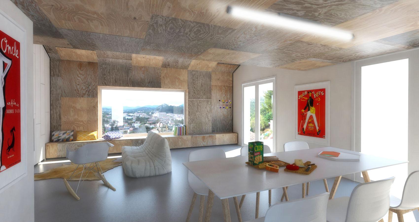 r novation d une maison de campagne deric fourie. Black Bedroom Furniture Sets. Home Design Ideas